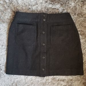 Gap wool skirt